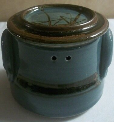 Signed Japanese Art Pottery Steamer Bowl with Lid