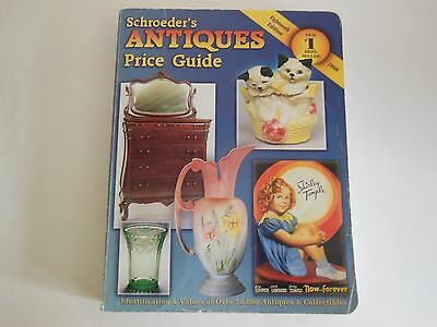 Schroeder's Antiques Price Guide 2000 guide to over 50,000 values