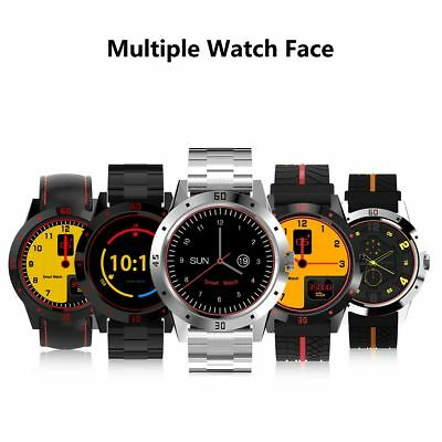 K88H Smart Watch Bluetooth Heart Rate Monitor Pedometer For iOS iPhone Samsung