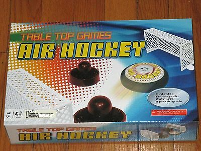 New In Box Table Top Games Air Hockey Toy