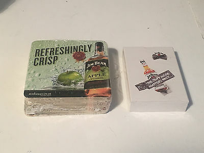 Jim Beam Playing Cards And Drinks Mats - Whisky Whiskey Bourbon Pub Bar