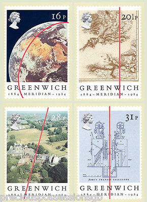 Gb Postcards Phq Cards Mint Full Set 1984 Greenwich Meridian Pack 77 10% Off 5+