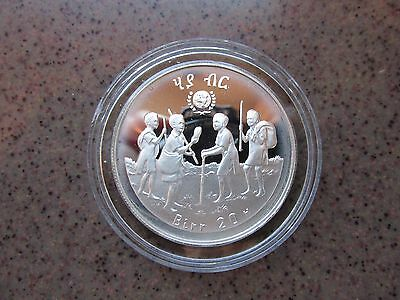 """International Year of the Child"" Ethiopia Silver Proof 20 Birr Coin"