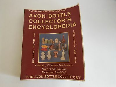Avon Bottle Collector's Encyclopedia book paperback Bud Hasting1988
