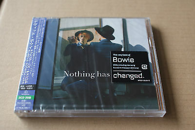 David Bowie - Nothing Has Changed - 2 CD JAPAN Edition with OBI - NEW & SEALED !