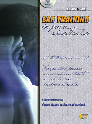 Andrea Tosoni - EAR TRAINING + CD - Ed. Carisch