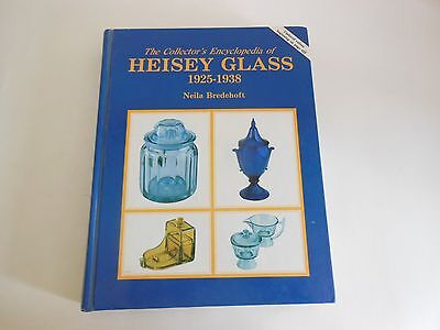 Heisey Glass Collector's Encyclopedia 1925-1938 hardcover 1986 updated to 1989