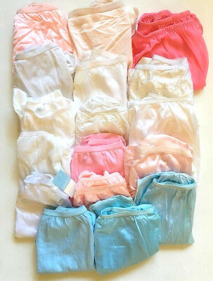 Vintage Panties Lot of 19 Pairs Nylon with Cotton Some New Various Sizes
