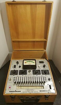 Vintage CR-30 Cathode Ray Tube Tester 1240 Precision Apparatus Co. Works