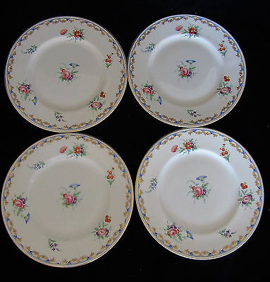 Lady Louise Old Ivory Syracuse China Dessert Plate Set(s) of FOUR Excellent!