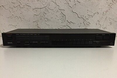 Luxman T-111 Digital Synthesized Audiophile AM/FM Radio Stereo Tuner