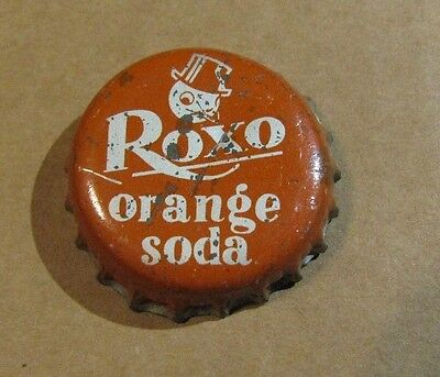 Roxo  Orange   Soda  Cork  Soda Bottle Cap