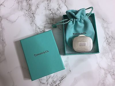 Vintage Tiffany & Co Sterling Silver Pill  Box