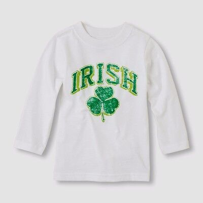 Tcp Toddler Baby Boy Girl Shamrock Irish T Shirt Top 6-9M St Patrick's Day