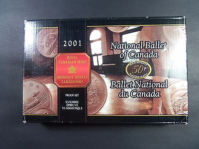 50Th Anniversary - National Ballet Of Canada - 2001 Sterling Silver Proof Set