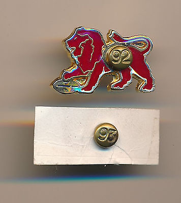 1992 Fitzroy Lions Football Club members Pin Badge with 1993 add on