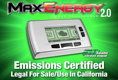 Hypertech 2100 Max Energy 2.0 Power Programmer California Edition Gas Diesel App