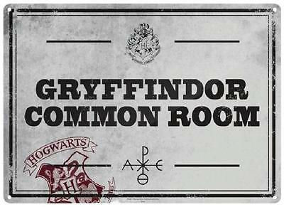 Harry Potter Gryffindor Common Room  Small Tin Sign