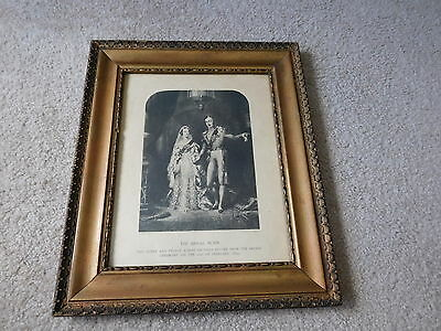 Vintage Print Of The Bridal Morn Engraved By S. W. Reynolds, Victoria & Albert
