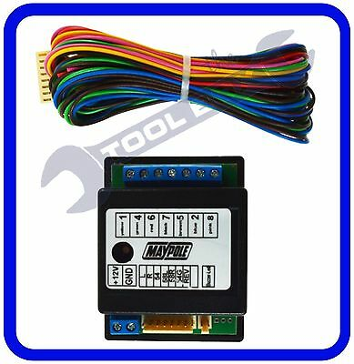 7 Way Electronic Bypass Towing Relay -12V - with plug in signal lead - MP389B