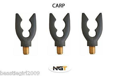 3 X Carp Rod Butt Rests For Carp Coarse Fishing Pod Ngt Fishing Tackle