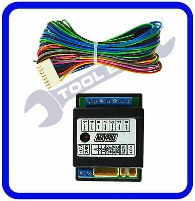 7 Way Electronic Bypass Towing Relay -12V - with Fog Cut Off - MP390B