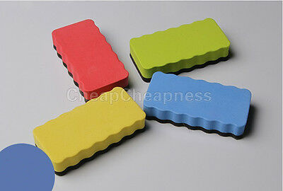 Magnetic Board Rubber Whiteboard Blackboard Cleaner Dry Marker Eraser Office .SM