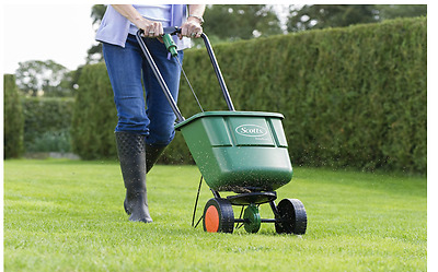 Scotts EasyGreen Rotary Grass Seed Spreader