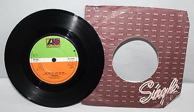 "7"" Single - Foreigner - Waiting For A Girl Like You - Atlantic K 11696 - 1981"