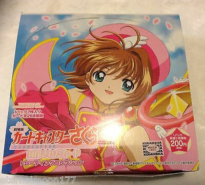 Cardcaptor Sakura PP Pull Pack 2 Movie Collection Cards Box of 20 packs