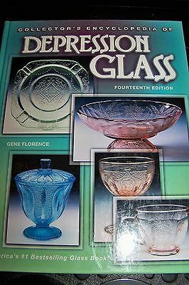 Identification/price Guide Book On Depression Glass