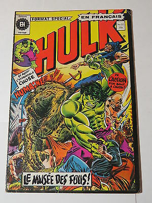 HULK 57  B&W French comic Heritage Marvel 198 from 1976