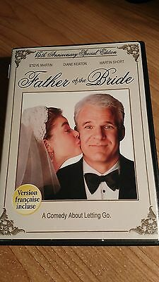 Father of the Bride (DVD, 2005, 15TH Anniversary Edition)  Steve Martin