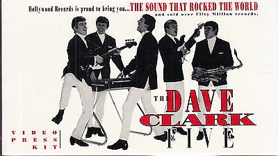 the dave clark five electronic press kit vhs new