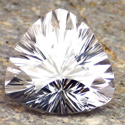 DANBURITE-MEXICO 9.67Ct FLAWLESS-FOR TOP JEWELRY-PRECISION FACETING-READ!