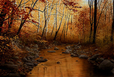 """""""beyond The Turning""""  By Alexander Volkov *artist Signed Ltd. Edition On Canvas*"""