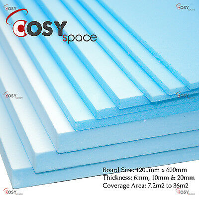 Electric Underfloor Insulation Boards Premium XPS Heating Undertile 7.2m2 - 36m2