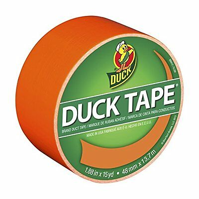 DuckBrand1265019Color Duct Tape,Neon Orange, 1.88 Inches x 15 Yards, Single Roll