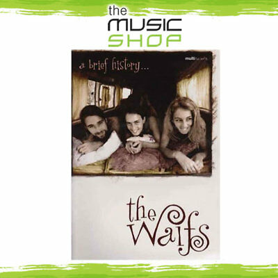 New The Waifs 'A Brief History' Multiscore Music Book - Piano Vocal Guitar