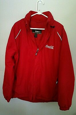 Coca Cola red jacket by North End Core 365 SZ Large