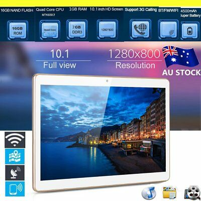 10.1 Inch Quad Core MTK6852 Chip IPS Screen 3G Phone Call Tablet 800*1280 KW
