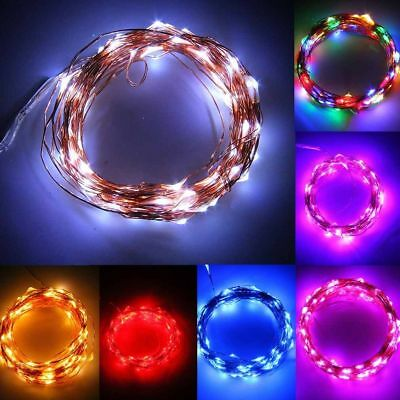 150 LED 15M Solar Powered Copper Wire String Fairy Xmas Party Wedding Lights FZ