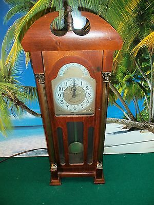 """VINTAGE SESSIONS UNITED ELECTRIC WALL CLOCK - 19.5"""" TALL x 7.25"""" WIDE"""