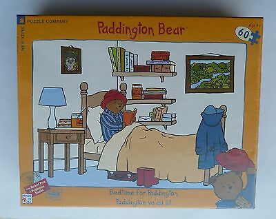 Vintage Paddington Bear Jigsaw Puzzle Bedtime for Paddington NEW in Package