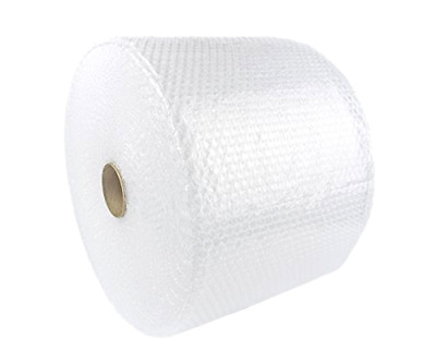 """Bubble + Wrap 3/16"""" 175 ft. x 12"""" Small Padding Perforated Shipping Moving Roll"""