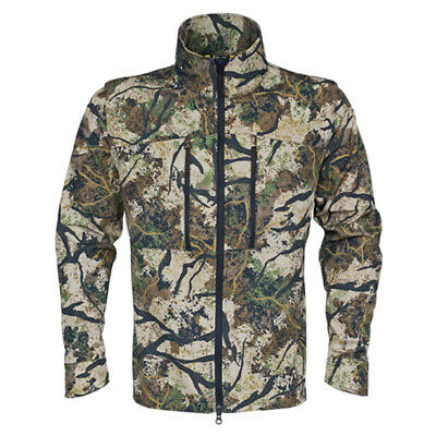 Tusx Hunter Schist Convert Shirt - Camo Lightweight Hunting Long Sleeve or Vest