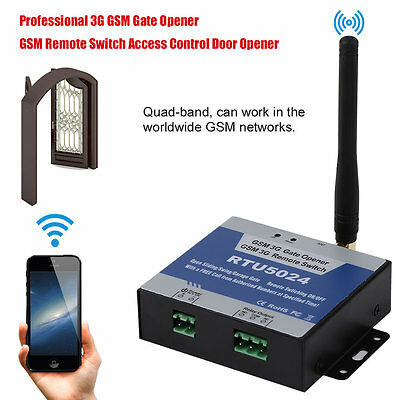 Professional 3G GSM AUte Opener GSM Remote Switch Access Control Door Opener AU