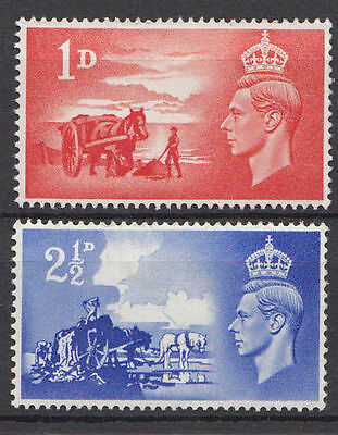 Gb Kgvi  Mnh Stamp Set 1948 Channel Islands Liberation Sg C1-C2
