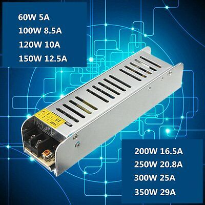KL-100W-12V-10A Switch Power Supply For LED Strip Light Aluminum Power Supply DB