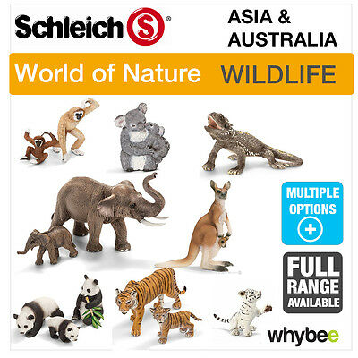 Schleich World Of Nature Asia & Australia, Animal Toys & Figures Figurines